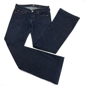 7 For All Mankind Dojo Jeans Size 28 Flare